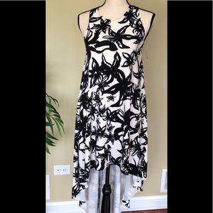 AKIRA Sleeveless Floral Dress
